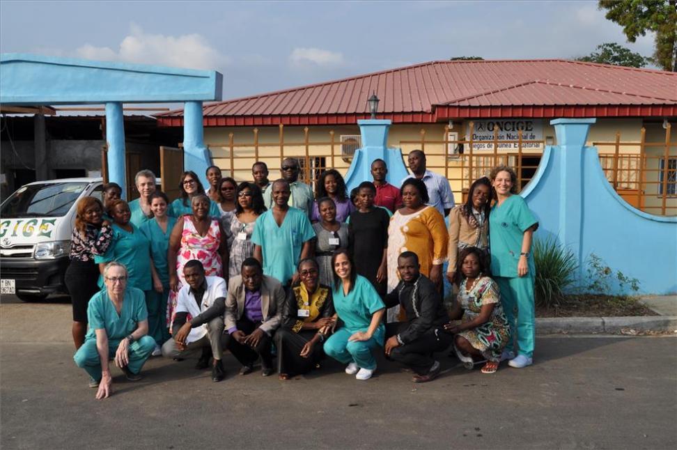 La Fundación La Arruzafa atiende a 654 pacientes en su expedición a Guinea