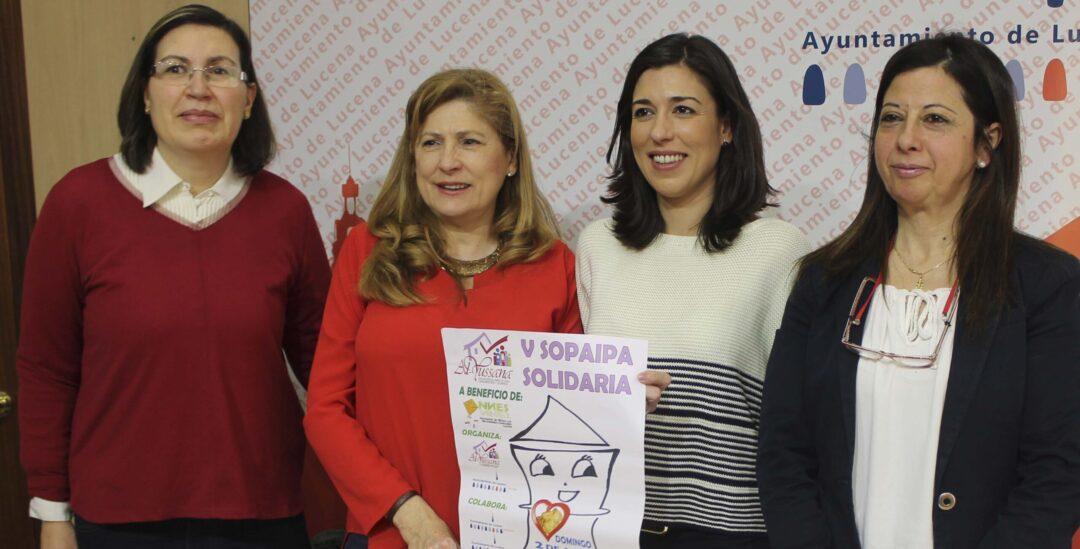 Los beneficios de la Sopaipa Solidaria de Lucena se destinarán a niños con necesidades especiales