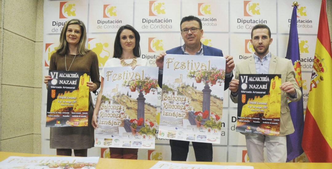 2.200 gitanillas adornarán las calles de Iznájar en su Festival de Balcones y Rincones