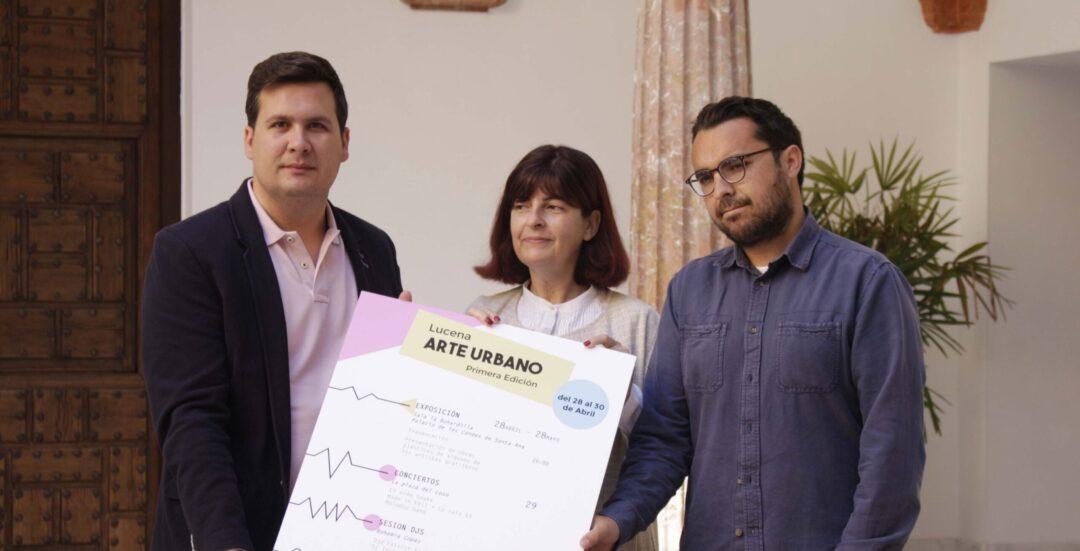 Primera edición del festival 'Arte Urbano' de Lucena