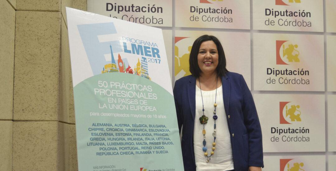 La Diputación impulsa la realización de prácticas profesionales en la UE por parte de desempleados