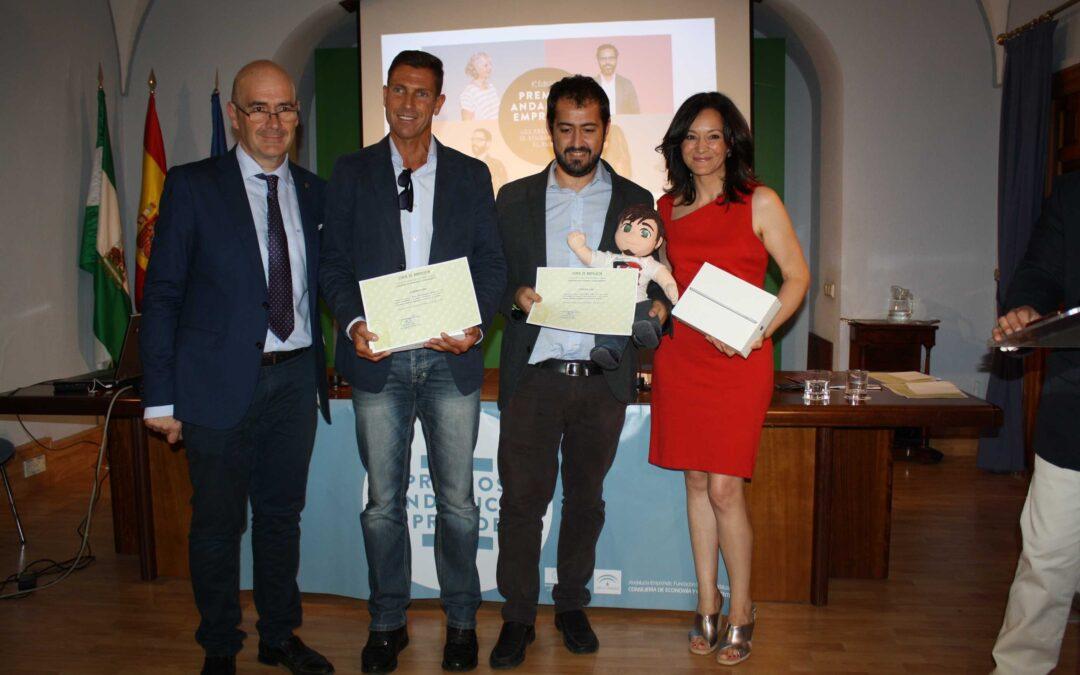 Wug Functional Gums y Gesta Web 2020 ganan la fase provincial de los premios Andalucía Emprende