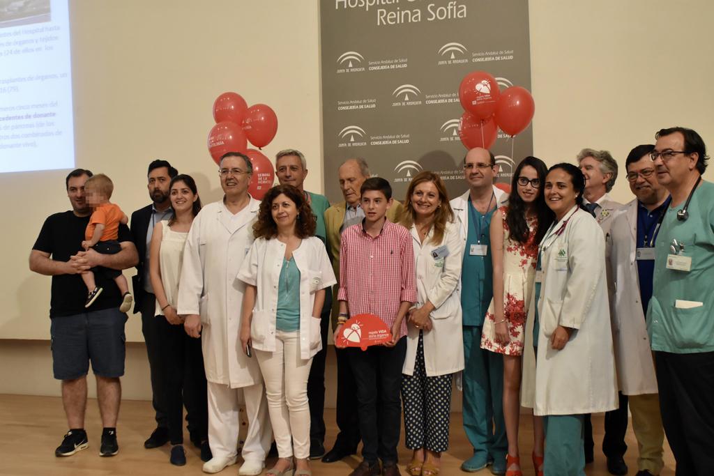 El Hospital Reina Sofía ha realizado más de 600 trasplantes infantiles