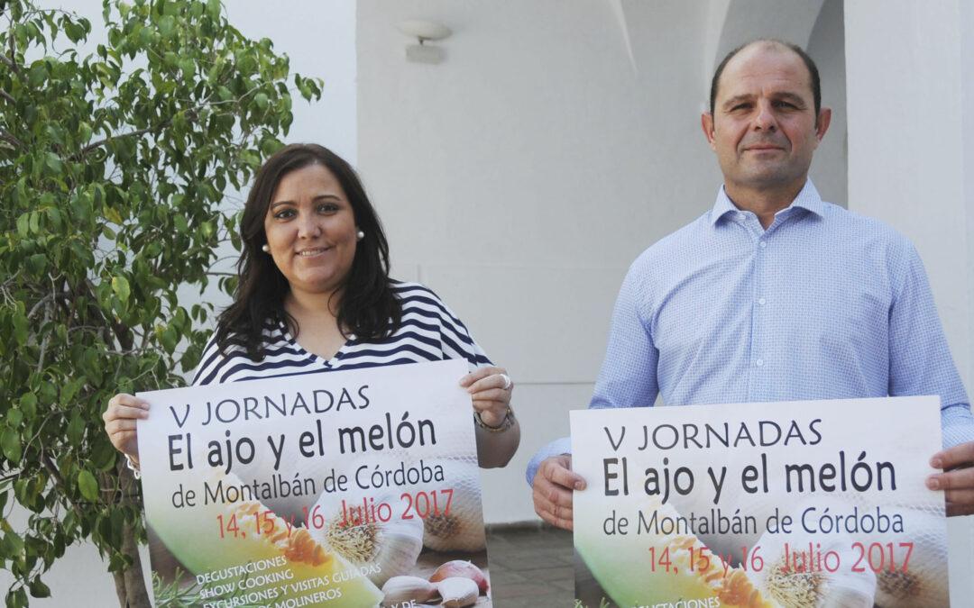 Montalbán muestra el potencial de su agricultura local en las V Jornadas del Ajo y el Melón