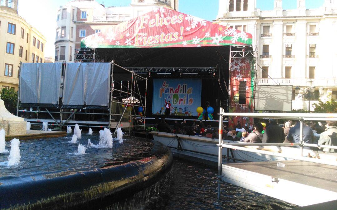 Fiesta infantil de Nochevieja en Las Tendillas
