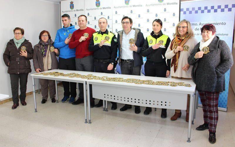 La Policía Local de Montilla recauda fondos para la lucha contra el cáncer infantil