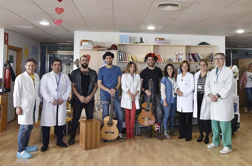 Música para mejorar la asistencia y cuidados de los pacientes infantiles