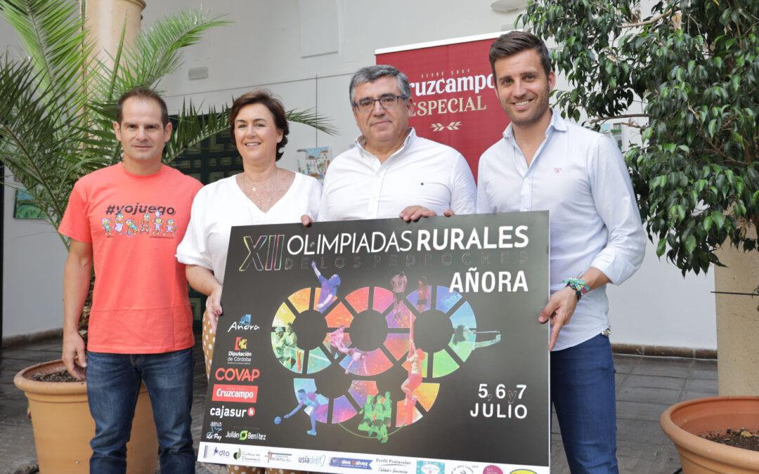 Regresan las Olimpiadas Rurales de Los Pedroches, con 16 juegos tradicionales